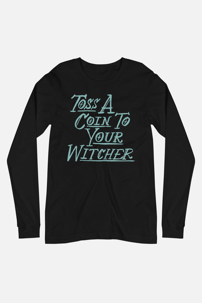 Toss a Coin Unisex Long Sleeve Tee