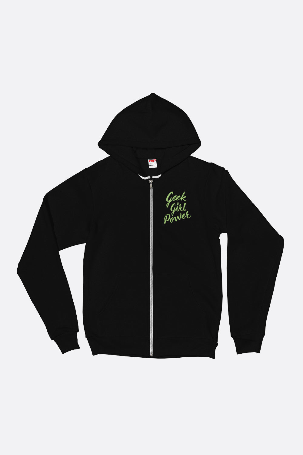 Geek Girl Power Zip Up Hoodie