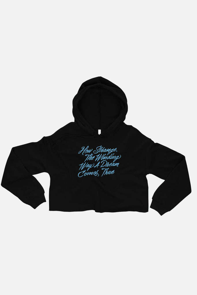 The Winding Way Fitted Crop Hoodie | The Invisible Life of Addie LaRue