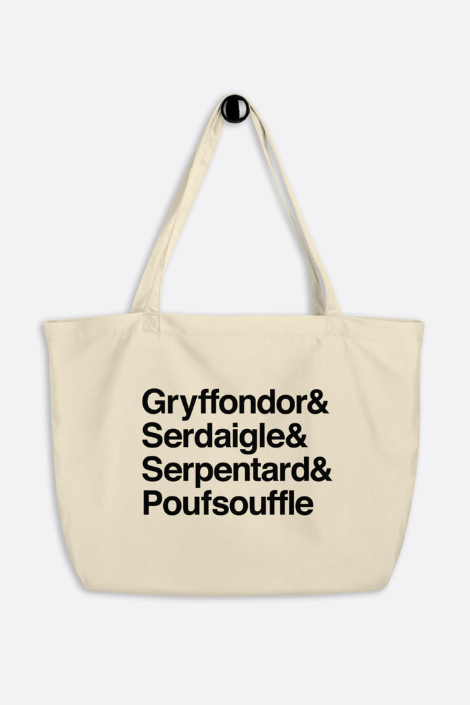 French School Large Eco Tote Bag