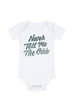 Never Tell Me the Odds Baby Onesie