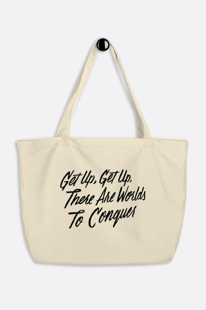 Get Up Large Eco Tote Bag | V.E. Schwab Official Collection
