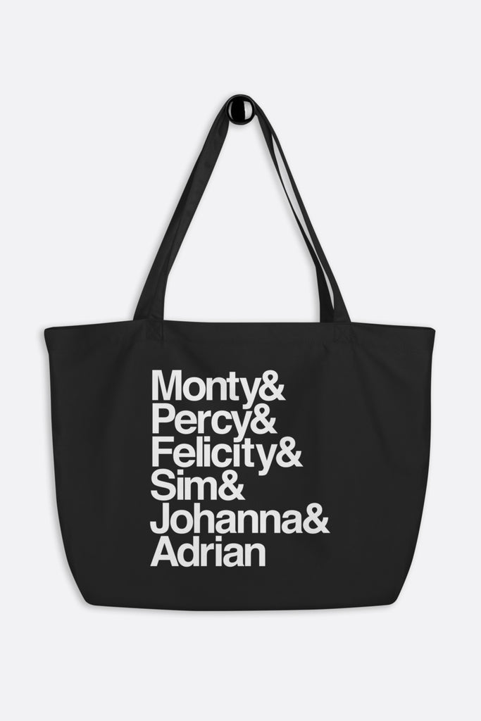Montague Siblings Ampersand Large Eco Tote | Mackenzi Lee