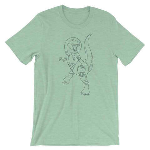 AstroDino Short-Sleeve Unisex T-Shirt | Patreon Exclusive