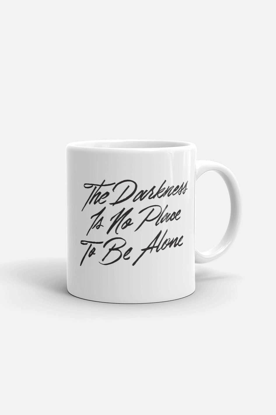 The Darkness is No Place to Be Alone Mug | The Invisible Life of Addie LaRue