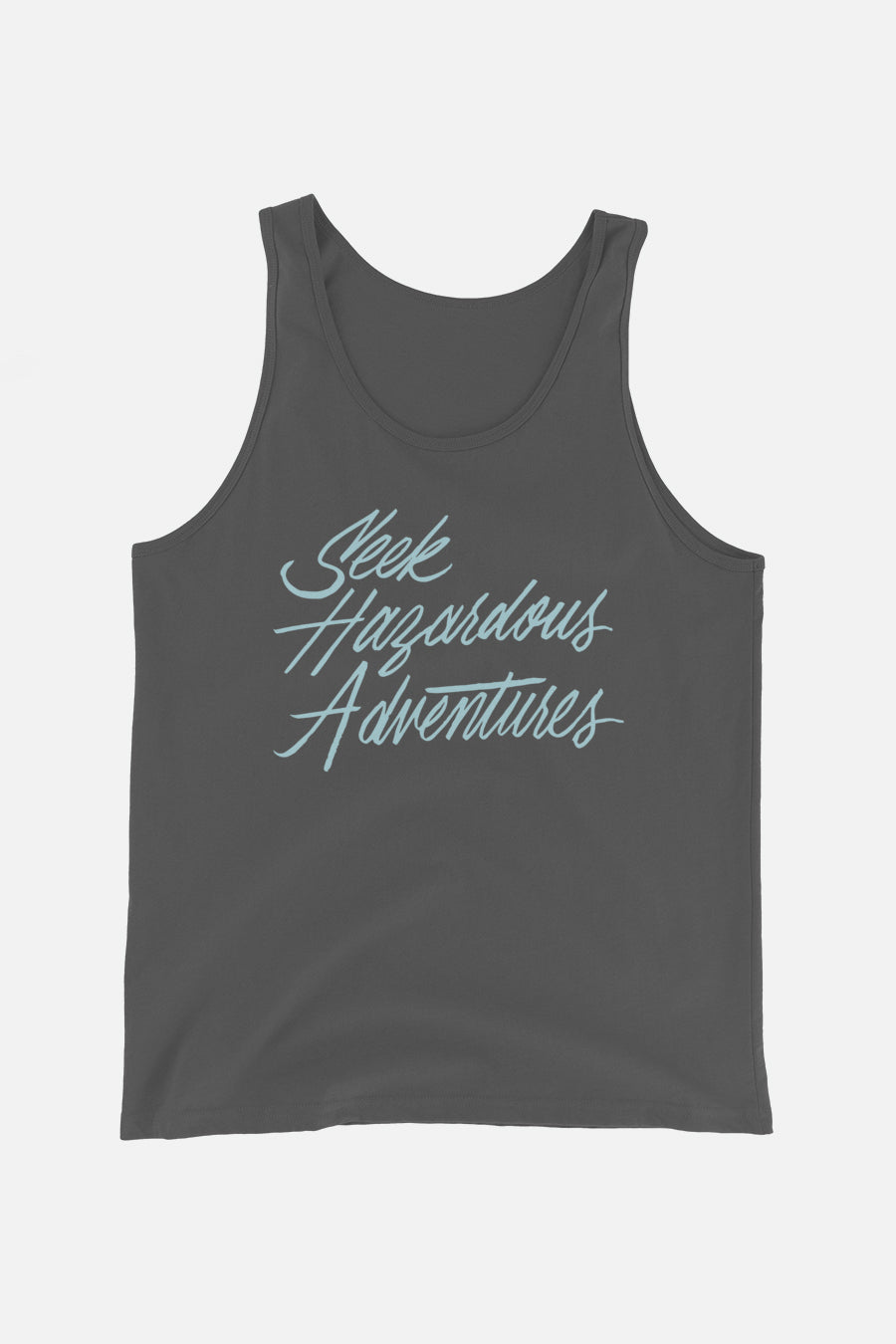 Seek Hazardous Adventures Unisex Tank Top