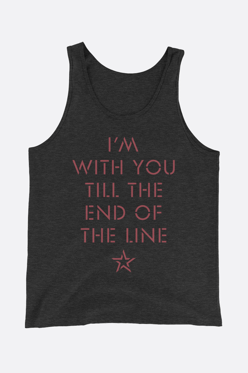End of the Line Unisex Tank Top