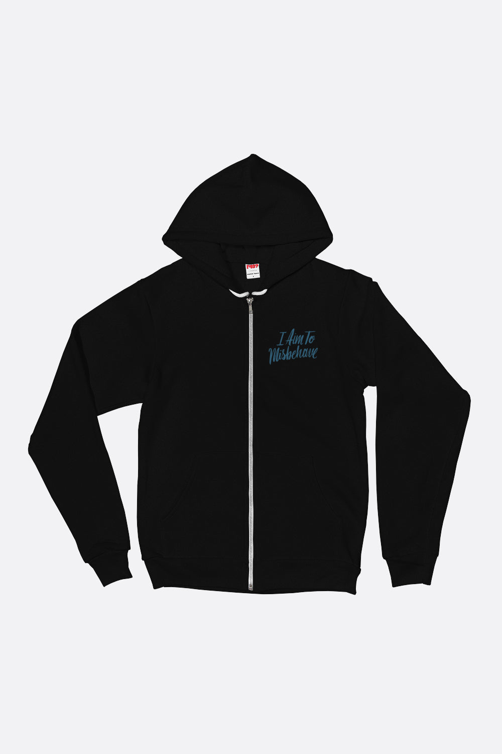 Aim to Misbehave Zip Up Hoodie