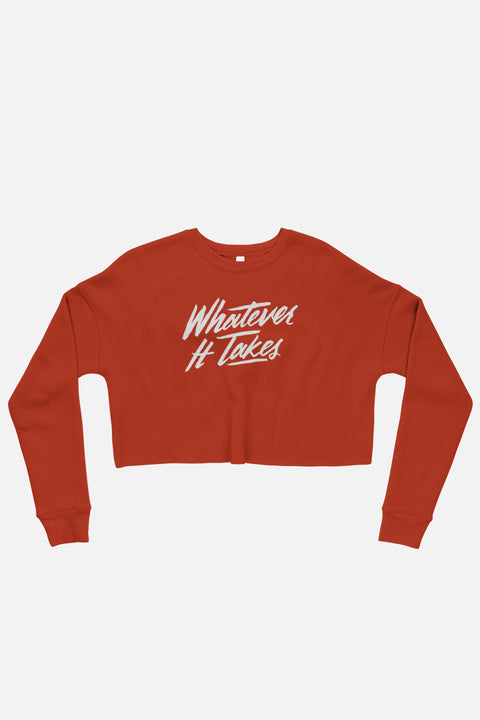 Whatever It Takes Crop Sweatshirt