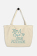 Toss a Coin Large Eco Tote Bag