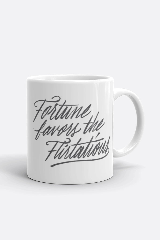 Fortune Favors the Flirtatious Mug | Mackenzi Lee