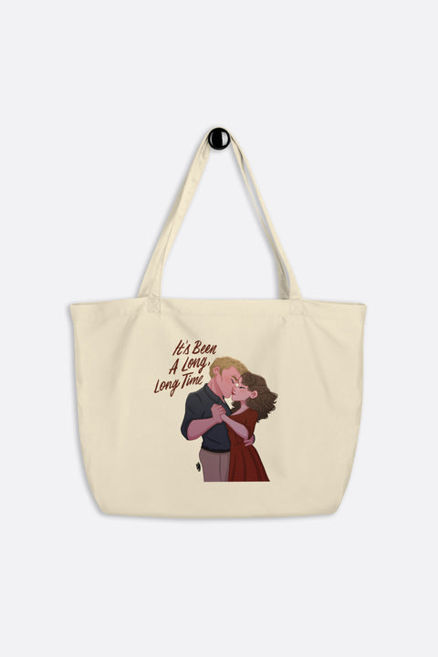 Let's Dance Large Eco Tote Bag | Butternut Gouache x Jordandene