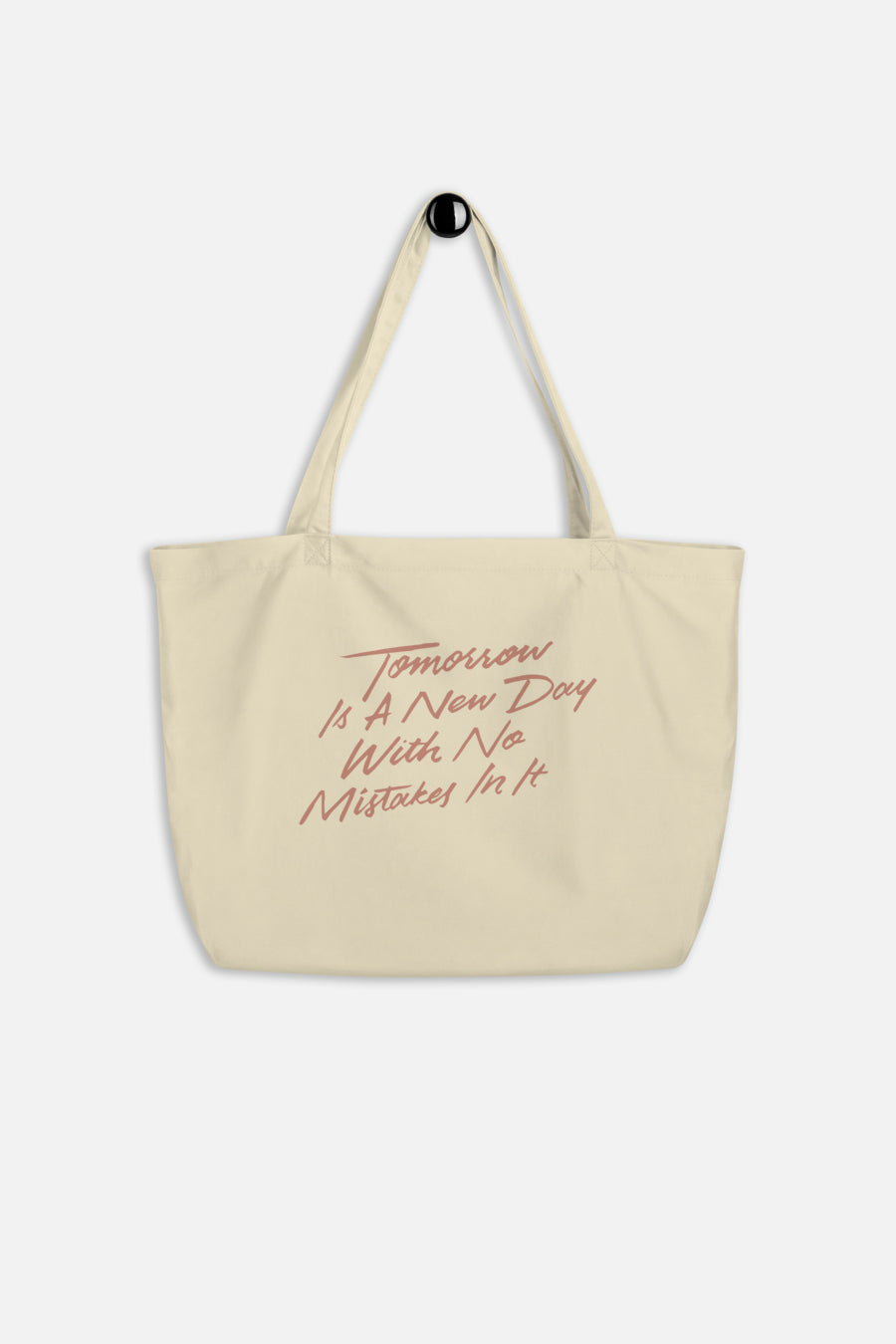 Tomorrow is a New Day Large Eco Tote Bag | Anne of Green Gables