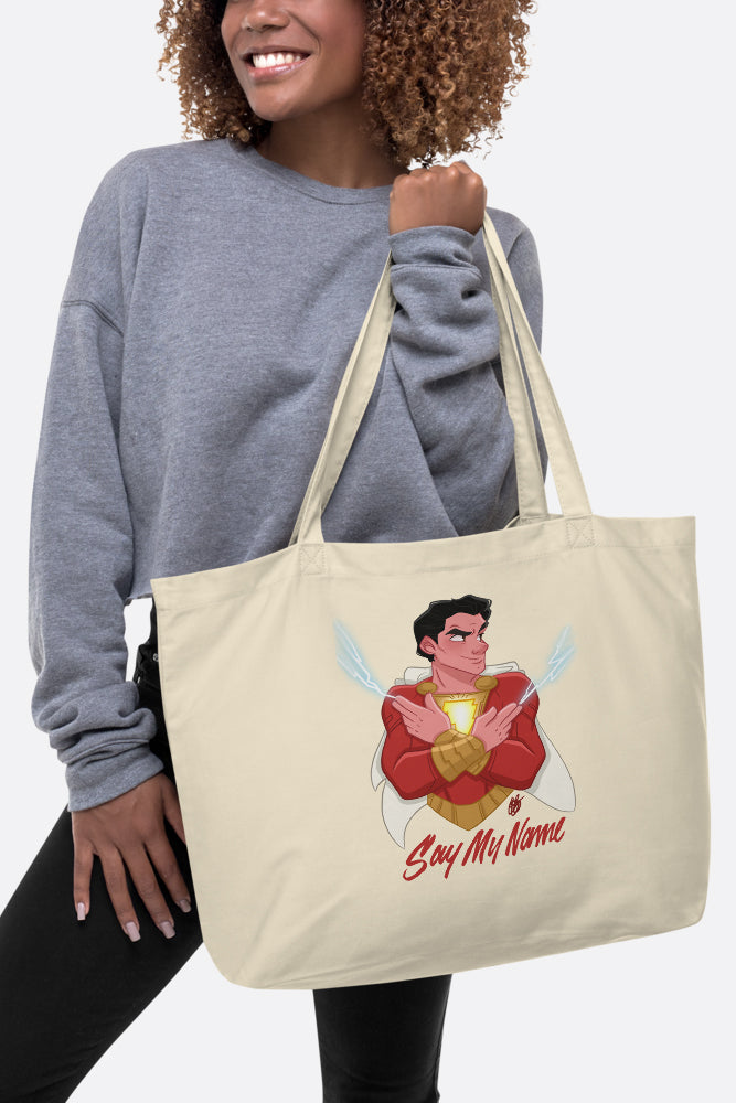 Say My Name Large Eco Tote Bag | Butternut Gouache x Jordandene