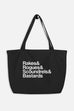 Rakes & Rogues Large Eco Tote Bag | Sarah MacLean