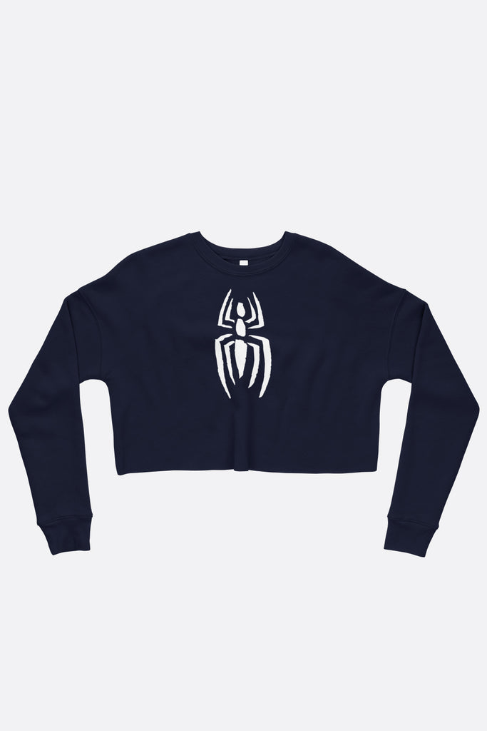 Spidey Fitted Crop Sweatshirt