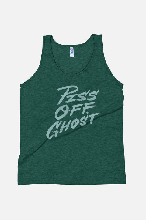 Piss Off Ghost Unisex Tank Top