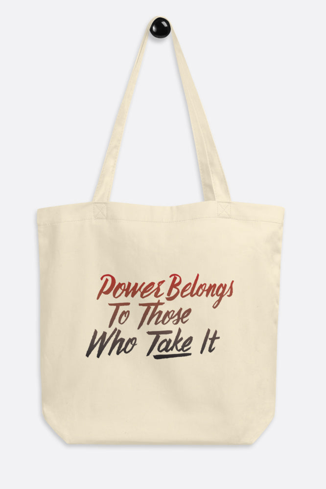 Power Belongs to Those Who Take It Tote Bag | V.E. Schwab Official Collection