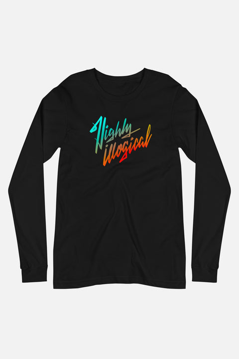 Highly Illogical Unisex Long Sleeve Tee
