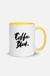 Coffee. Black. Colorful Mug