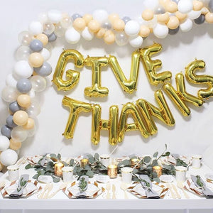 give thanks balloons
