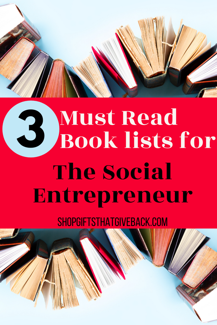 3 Must Read book lists for Social Enterprise