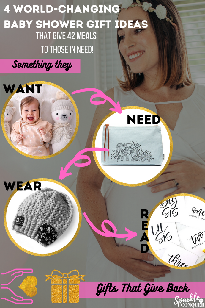 Best Baby Shower Gift Ideas (and They Give 42 Meals To Those In Need)