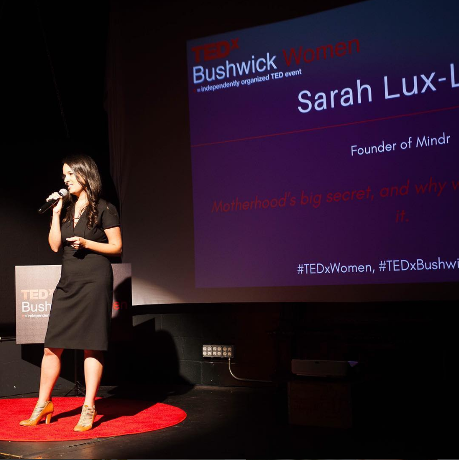 TedX Talk on Motherhood Sarah Lux-Lee