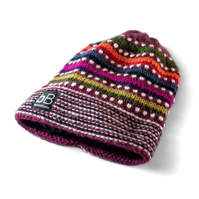 Cherry Rainbow Kids Beanie