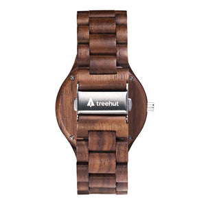 Treehut All Wood Watch // charity: water All Walnut Boyd