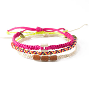 Breast Cancer Awareness Bracelet Pack