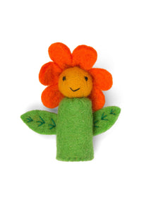 Sunflower Finger Puppet