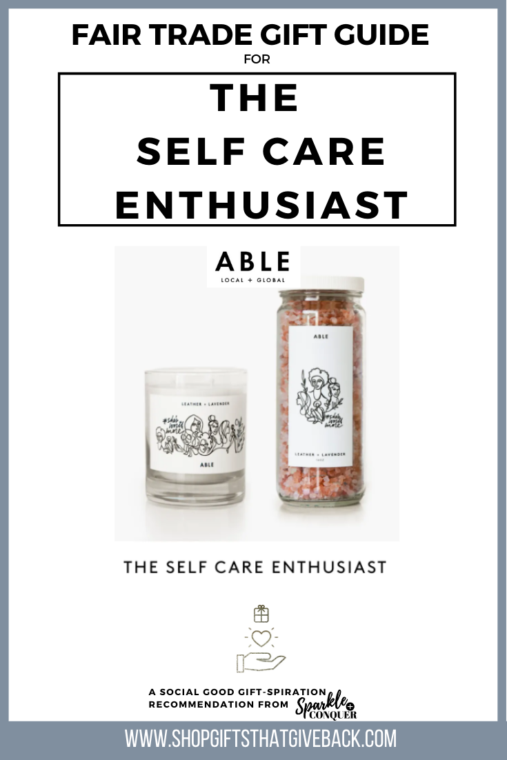 Gift Guide | The Self Care Enthusiast