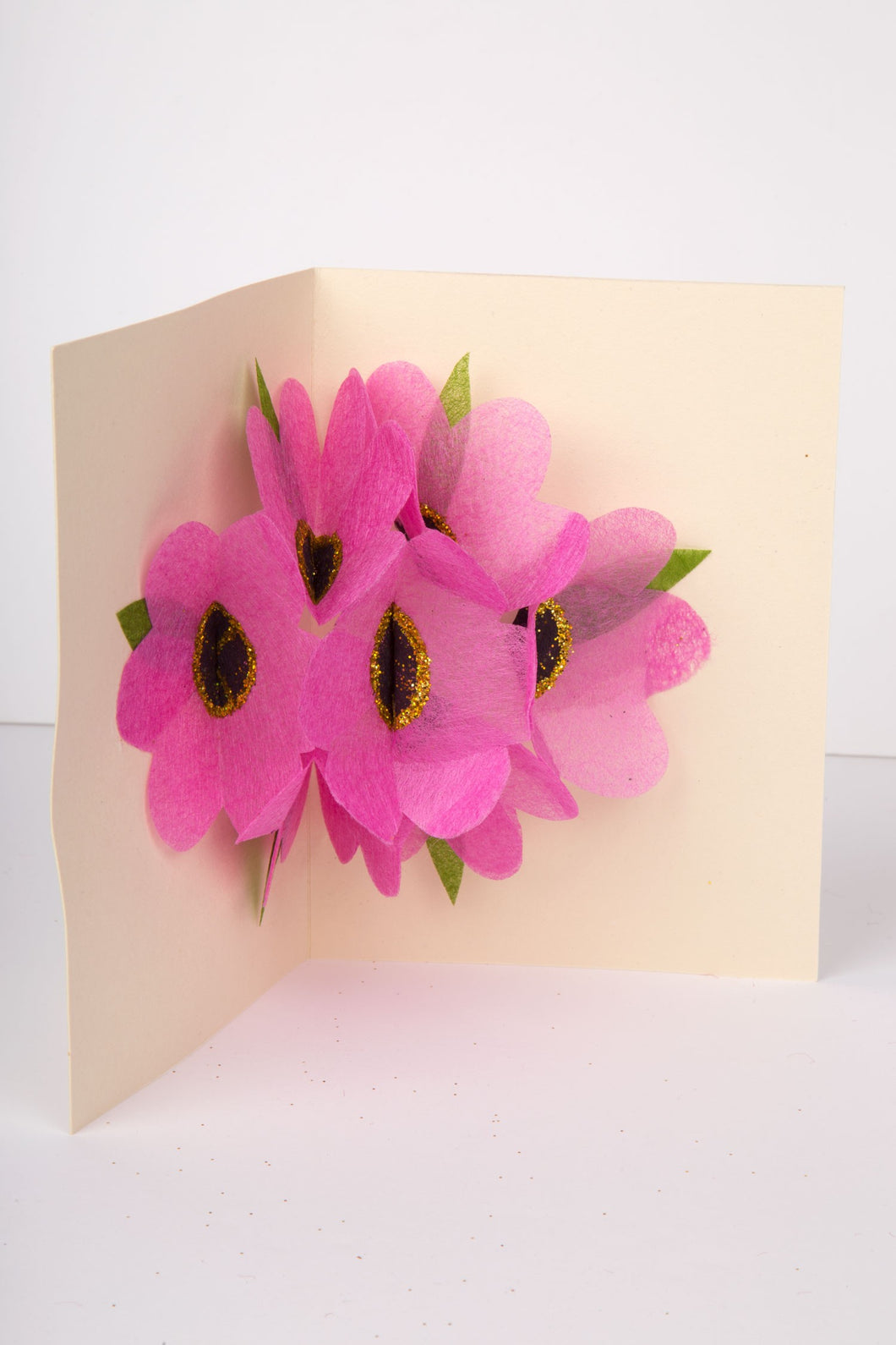Pop-Up Flower Greeting Card