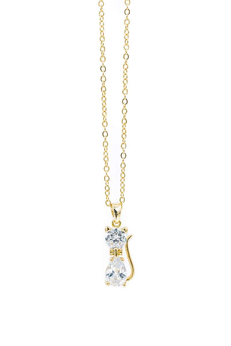Crystal Kitty | Necklace