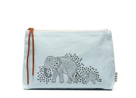 canvas elephant pouch