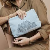 Elephant Canvas Pouch
