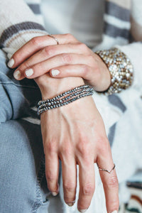 sparkle bracelet that gives back