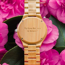 charity: water // All Bamboo Boyd Watch