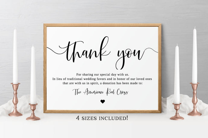 Wedding template give back gift idea
