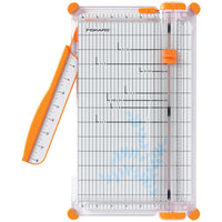 "Fiskars SureCut Deluxe Paper Trimmer 12"" - Scrap of Paradise"