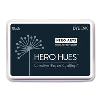 Hero Hues Dye Ink Pad: Black - Scrap of Paradise