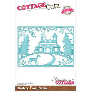 Cottage Cutz Winter Frost Scene Die - Scrap of Paradise
