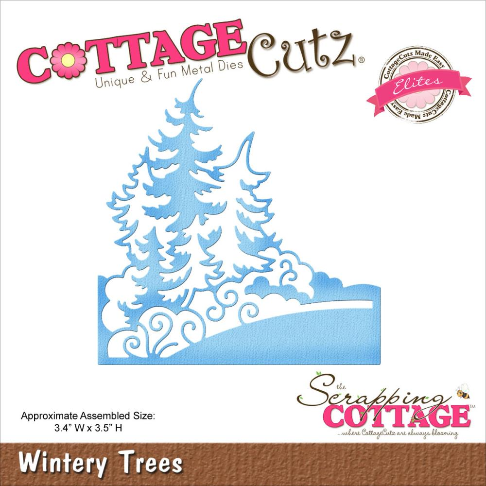 Cottage Cutz Wintery Trees Die - Scrap of Paradise