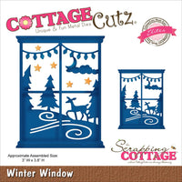 Cottage Cutz Winter Window Die