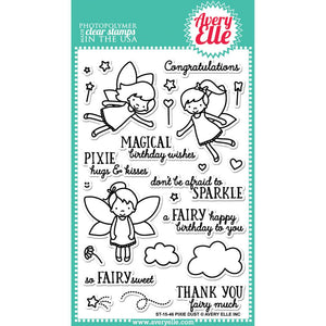 Avery Elle Pixie Dust Stamp - Scrap of Paradise
