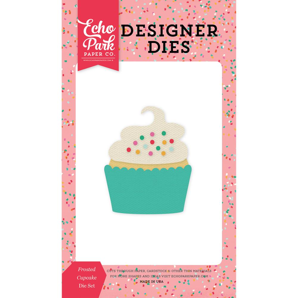 Echo Park Frosted Cupcake Die - Scrap of Paradise