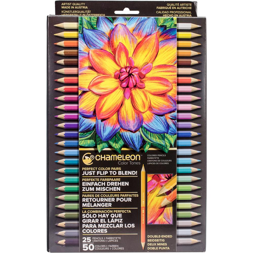 Chameleon Color Tones Double-Ended Colored Pencils - Scrap of Paradise