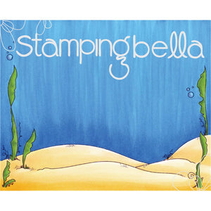 Stamping Bella Undersea Backdrop Stamp Set