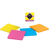 "OnePost-It Super Sticky Full Adhesive Notes 3"" X 3"""